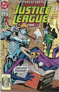 Justice League Europe #44 - VF - The Mystery of Castle JLE