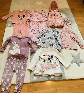 Baby Girl Disney Clothes Bundle 12-18 Months 1-1.5years Used In Excell Cond.