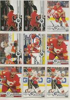 CALGARY FLAMES ~ 2019-20 Upper Deck TEAM LOT / SET ~ 20 Hockey Cards ~ GIORDANO