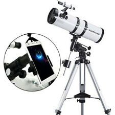 Visionking 6 Inch 150-750mm EQ Reflector Astronomical Telescope & Phone Adapter