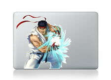 Street fighter Ryu Revenge vinyl decal, sticker for Apple Macbook Pro Mac 13inch