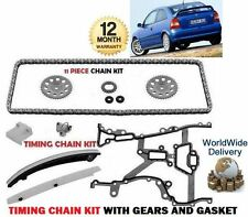 FOR VAUXHALL OPEL ASTRA G H 1.2 1.4 16V 2000--> TIMING CAM CHAIN KIT WITH GEARS