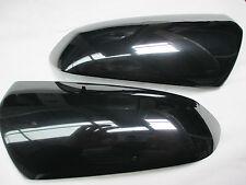 VE VF Black Mirror Covers Pair suit SS SSv Calais HSV SV6 Omega Genuine New GM