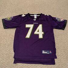 Michael Oher Baltimore Ravens NFL Football Jersey Reebok Youth Boys Large 14-16