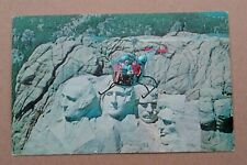 Printed Postcard - South Dakota Mt. Rushmore Helicopter Aerial View