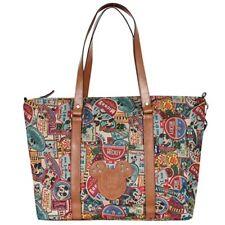 Disney Mickey Mouse Vintage Pattern Purpose Shoulder Bag Large Shopper Handbag