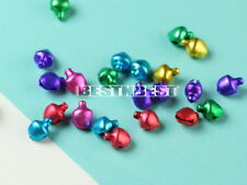 500Pcs Mixed-color Small Charms Jingle Bells Diy Decoration For Jewelry Crafts
