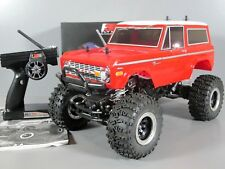 Use Tamiya RC 1/10 CR-01 Ford Bronco 1973 4WD Crawler Duratrax ESC 2.4GHz Flysky