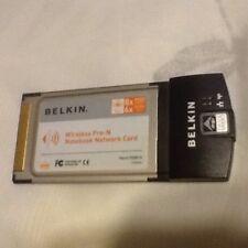 Belkin Wireless Pre-N Notebook Network Card