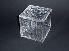"""SCATOLA IN PLEXIGLASS """"ghiaccio"""" per caramelle / gioielli cm. 12 x 12 esclusiva!"""