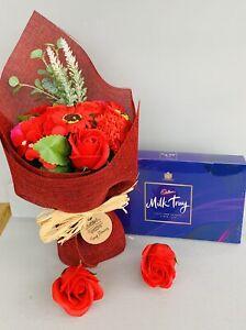 LADIES SOAP PAMPER HAMPER GIFT BOX SET HER BIRTHDAY CHRISTMAS WIFE GIRLFRIEND