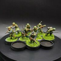 Painted 28mm Bolt Action Ww2 German Grenadier Squad #1 ×8 Men