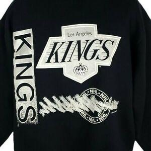 Los Angeles Kings Sweatshirt Vintage 90s LA NHL Hockey Made In USA Size XL