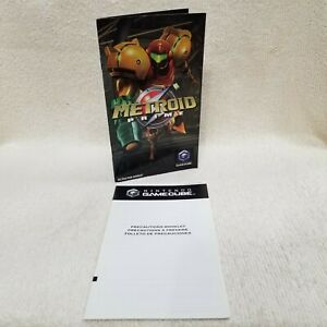 ⭐Metroid Prime Nintendo GameCube Instruction Booklet Manual ONLY NO GAME⭐👀