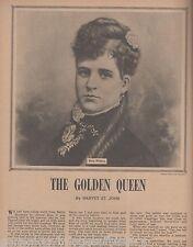 Kitty Wilkins - The Golden Queen of Idaho Horse Ranch+St. John