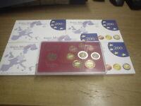 BRD KMS 2002 PP, A,D,F,G,J komplett , Kursmünzensatz