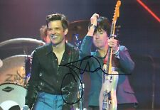 Johnny MARR SIGNED Autograph 12x8 Photo 2 with The Killers AFTAL COA The SMITHS