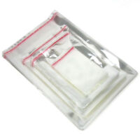 """100 Clear Cello Bags Resealable Self Adhesive Flap,OPP Poly 6x11/"""" 6 x 11 Inch"""