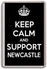 KEEP CALM AND SUPPORT NEWCASTLE, NEWCASTLE UNITED FOOTBALL TEAM Fridge Magnet