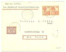 NED INDIE 1926-05-8 BS#5  PER S.S.PATRIA RARE  LUXE