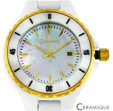 CERAMIQUE  Women's  Ceramic Watch with Mother of Pearl Dial and Date - $736.00