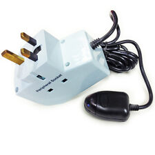 ENERGY SAVING POWER DOWN PLUG SOCKET USES TV REMOTE ELECTRIC SAVER ONE CLICK OFF