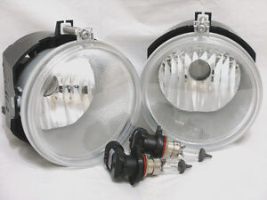 Driving Fog Light Lamps One Pair For 2005-2009 Grand Cherokee 2007-2009 Durango