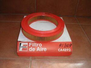 FILTRO DE  AIRE       SEAT IBIZA Y RONDA SYSTEN PORSCHE