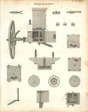 1802  Mr Wright's Sowing Machine Copperplate