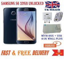 Samsung Galaxy S6 SM-G920F SIM FREE - 32GB - (Unlocked) Smartphone BLACK