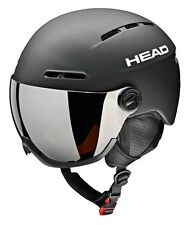 HEAD Knight Black - Visier Skihelm M/l (54-57)