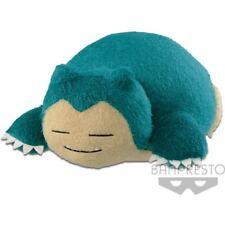 """Pokemon Snorlax Relax Time Super Big 18"""" Plush Doll Banpresto (100% authentic)"""