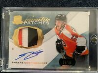 2014-15 UD The Cup Rookie Signature Patches #SP-SG Shayne Gostisbehere 50/99