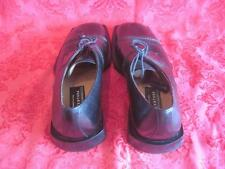 "Avventura ""The Art of Footwear"" Black Leather Oxfords Hand Made in Spain 7.5 M"