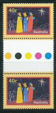 Australian Stamps: 1998 Christmas - $0.40 Pair - Gutter