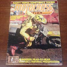 MOTOCROSS ACTION JULY 1978 GP RACES 100cc SHOOTOUT BOB HANNAH JEFF WARD VINTAGE