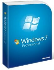 CLÉ WINDOWS WIN 7 PRO PROFESIONNEL 32/64 BITS - LICENCE 1 PC 100% ORIGINALE
