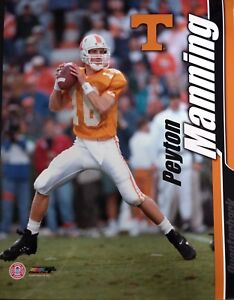 PEYTON MANNING 8X10 PHOTO TENNESSEE VOLUNTEERS NCAA Colts Broncos