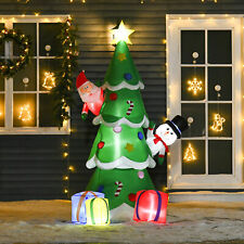 More details for 2.1m christmas inflatable tree led lighted for indoor outdoor decoration