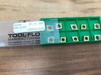 """CPGM 32.505 GP25  """"TOOL-FLO """" TURNING/ FACING INSERTS,  10 Pieces **New**"""
