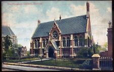The Vaughan Library, Harrow. 1906 Vintage Postcard. Free Postage