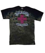 Authentic Bon Jovi Bad Medicine Rock & Roll Star Music T Tee Shirt 2Xl Xxl
