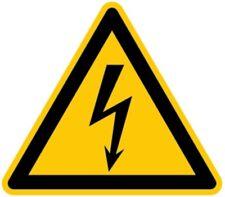 Aufkleber Warnung vor gefährlicher elektrischer Spannung D-W008 SL 25mm 5 Stück