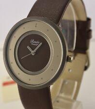 Renee Design Herren Armbanduhr Uhr Quarz  Titan