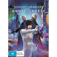 GHOST IN THE SHELL-Scarlett Johansson-Region 4-New AND Sealed