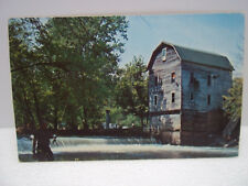 Vintage Postcard Cagles Water Power Mill Poland Indiana Earl Berry