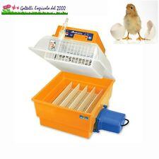 Incubatrice covatutto 24 automatica per uova pulcini galline anatre quaglie