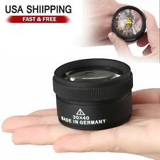 40x Magnifying Glass Eye Loop Optical Magnifier Jewelry Watch Repair Tool US