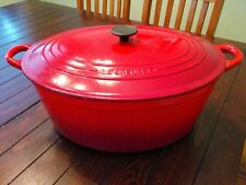 LE CREUSET   15.5 QT   GOOSE POT   Cherry Red/Cerise   NEW