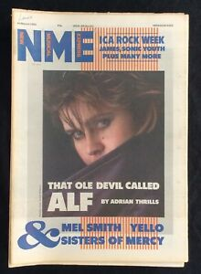 NME 30 March 1985 Alison Moyet Mel Smith Yello Sisters of Mercy ICA Rock Week